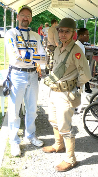 Chris in uniform